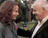 Beeldvergroting: (Nicole Kidman en Anthony Hopkins - recente reclamefoto voor de film The Human Stain)